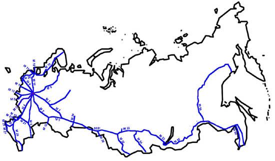 Федеральные трассы России